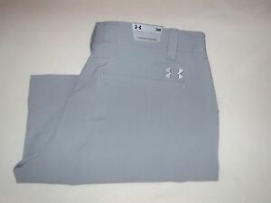 Men's UNDER ARMOUR Size 38 UA Match Play GOLF Shorts Steel GRAY 1253487 035