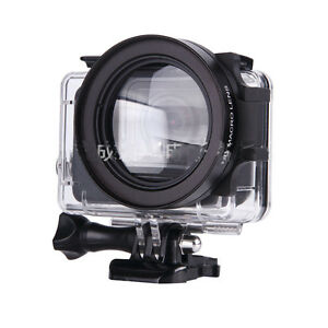 58mm 16X Macro Lens Close-up Filter Kit Proffesional For GoPro HERO 3+4 5