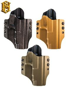 HSGI Glock Competition OWB Holster-For Glock 34 35-Black-Coyote