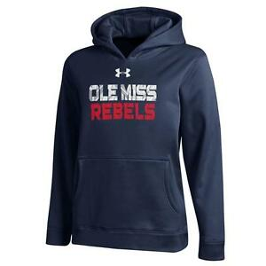 Boy's Under Armour Ole Miss Rebels Performance Hoodie