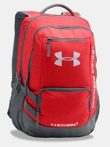 Under Armour Storm Hustle II Backpack - Red