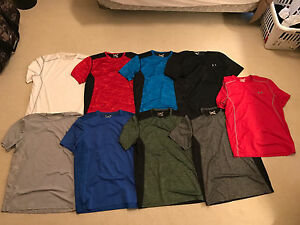 9 x Under Armour Men's Tennis Raid  - Andy Murray Shirts ( All Large )