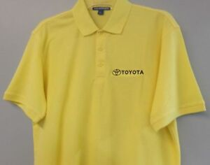 TOYOTA Mens Embroidered Polo Sport Golf Shirt S to 6XL LT-4XLT New