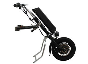 Fast shipping 36V250W e-Wheelchair Tractor Attachment Handcycle Kit+36V 9AH
