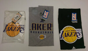 LAKER T-SHIRT BLOWOUT - 3800 SHIRTS BELOW COST CLOSEOUT