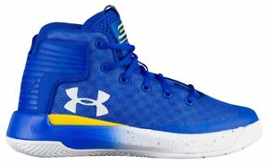 Under Armour Curry 3Zero - Boys' Preschool Team RoyalWhiteWhite 5999-400