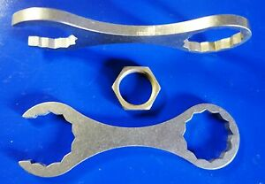 Stainless Steel Reloading die wrench for press using Dillon 1