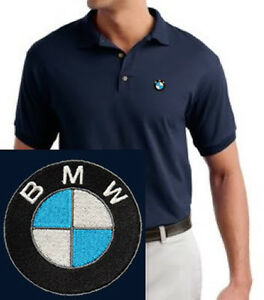 BMW Motors Mens Embroidered Polo Sport Golf Shirt S to 6XL LT-4XLT New