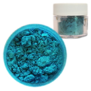 Bakell™ Blue Teal Edible Luster Dust 4g Food Grade Pearlized Decorating