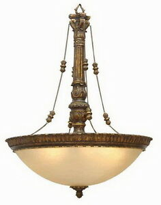 Moroccan Gold 6 Light ChandelierPendant
