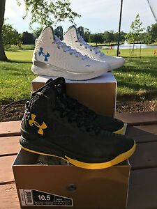 UNDER ARMOUR STEPHEN CURRY ONE 1 CHAMPIONSHIP PACK SIZE 10.5 WARRIORS MVP