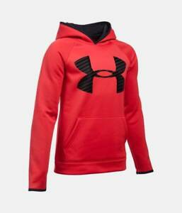 Under Armour Boys Large Storm Highlight Big Logo Hoodie 1281073