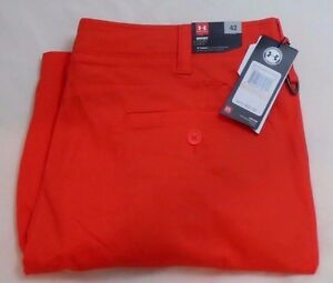 Men's UNDER ARMOUR Size 42 UA Performance Chino Golf Shorts 1253679 984