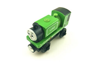 Mattel Thomas & Friends Luke Magnetic Wooden Toy Train Loose New In Stock