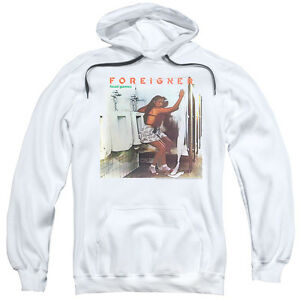 Foreigner Head Games Pullover Hoodies for Men or Kids