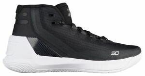 Under Armour Curry 3 - Boys' Grade School BlackWhiteWhite 4061-006