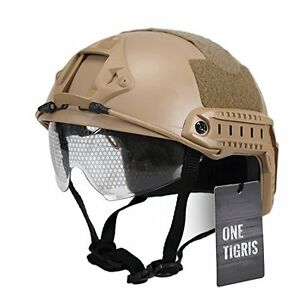 OneTigris Military Helmet MH Type Helmet Tactical Airsoft Paintball Fast Helm...