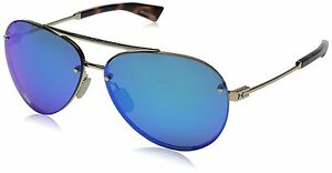 Under Armour Double Down 8600083-910100 Aviator Sunglasses 64 mm