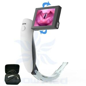 High Resolution Rechargeable Video Laryngoscope Suitable For Adult FDACE