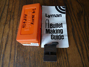 Lyman Ideal #429244 Single Cavtiy Bullet Mold