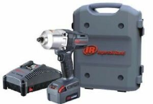 Ingersoll Rand W7150 K12 1 2 Inch Impact 20V 5.0AH Lith Ion Single Battery Kit $274.99