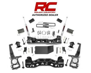 2011 2013 Ford F 150 4WD 4 Rough Country Suspension Lift Kit w N3 559S $1099.95