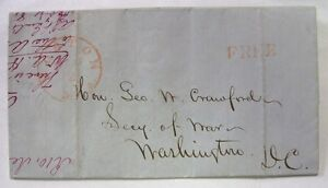 MEXICAN WAR REVENUE CUTTER OFFICER LETTER re: Capt. William A. Howard 1850