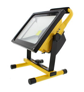 ABN Rechargeable LED Work Light – 30W 2700LM Cordless Portable Flood Light