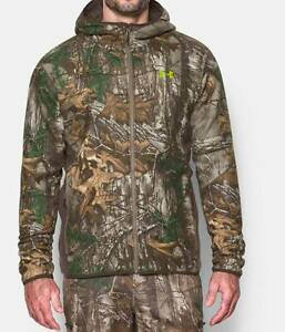 Under Armour Men UA Stealth Hoodie Realtree XtraVelocity XL 1283119