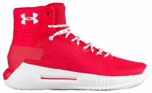 Under Armour Drive 4 Boys' Grade School RedWhiteWhite 6004-600