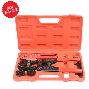 IWISS ASTM F1807 Pex Pipe Crimping Tool  with Pex Pipe Cutter Tool 38