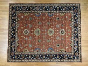 12'x14'9''  Hand-Knotted Oversize All Over Design Village Rug R37512