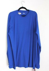 New UNDER ARMOUR Mens XL Tall Long Sleeve Running Jogging Athletic Gym Shirt