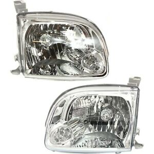 Headlight Left and Right For Toyota 2005 2006 Tundra Regular Access Cab $116.64