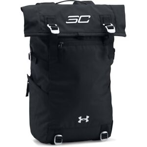Under Armour SC30 Signature Rolltop Backpack BlackSilver