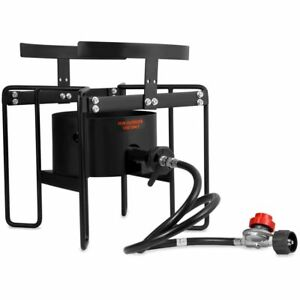20psi Turkey Fryer Stand Gas Propane Stove Single Burner Outdoor Cooking Camping