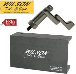 L. E. Wilson Trimmer Stand and Case Holder Clamp CT-CLST  Free Shipping!