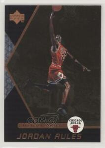 1998 99 Upper Deck Ovation Rules Michael Jordan #J1 HOF