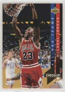 1993 94 Upper Deck All NBA Team Michael Jordan #AN15 HOF