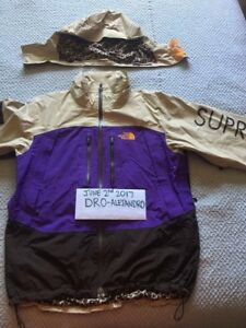SUPREME X THE NORTHFACE TNF SUMMIT SERIES FIRST GENERATION 2007 JACKET XL