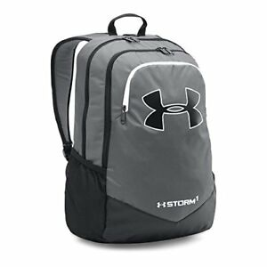 Under Armour Boys' Storm Scrimmage Backpack GraphiteBlack One Size Bags Unisex