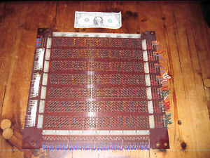 Gorgeous core memory stack from the 1950s Dijkstra's Electrologica memory