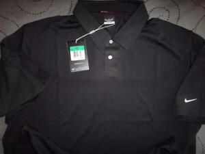 NIKE TIGER WOODS COLLECTION GOLF DRI-FIT POLO SHIRT 2XL XL MEN NWT $95.00