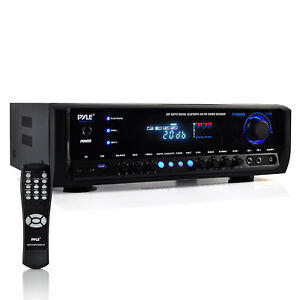 Pyle Digital Home Theater Bluetooth 4 Channel Radio Aux Stereo Receiver PT390BTU $90.49