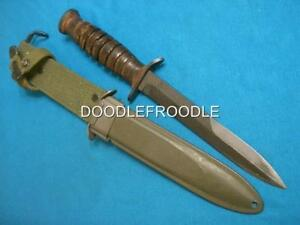 VINTAGE WW2 USM3 COMMANDO MILITARY COMBAT FIGHTING SURVIVAL BOWIE KNIFE KNIVES