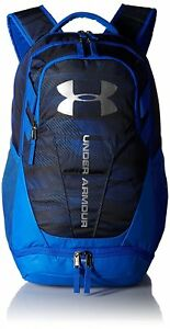 Under Armour Hustle 3.0 Backpack Ultra BlueBlack One Size Bags Backpacks Unisex