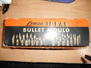 Lyman Ideal Bullet Mould 358495 With Handles