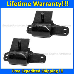 K2031 Front Leftamp;Right Motor Mount Set 2pc For 95 97 Nissan Pickup 2.4L 4WD $30.75