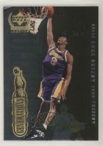 1998 Upper Deck Century Legends Generations Kobe Bryant Michael Jordan #KBMJ HOF