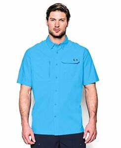 Under Armour Men's Fish Hunter Solid Short Sleeve - Choose SZColor
